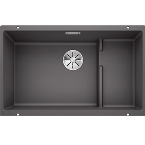 Blanco Silgranit Subline 700-U Single Sink | Rock Grey