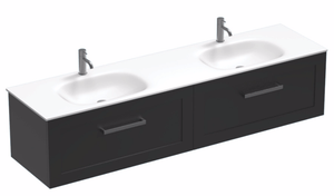 Hampton Spio 1800 2 Drawer Double Basin Vanity