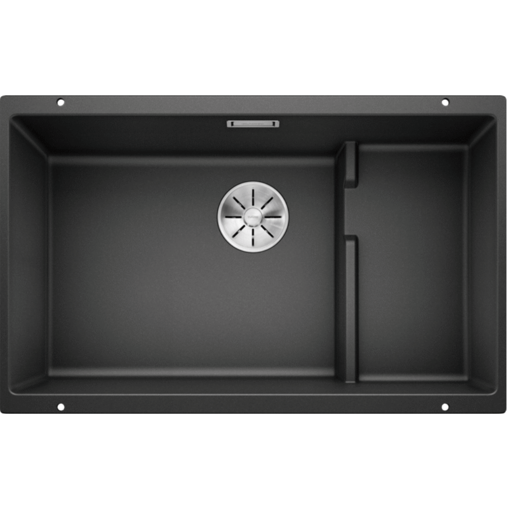 Blanco Silgranit Subline 700-U Single Sink | Anthracite Black