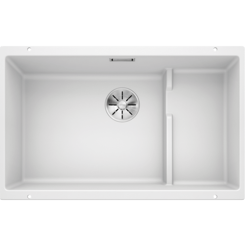 Blanco Silgranit Subline 700-U Single Sink | White