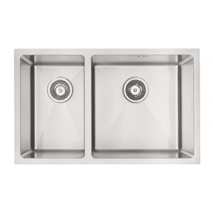Mercer DV201-L Sink - Bristol 250 x 400mm + 400 x 400mm