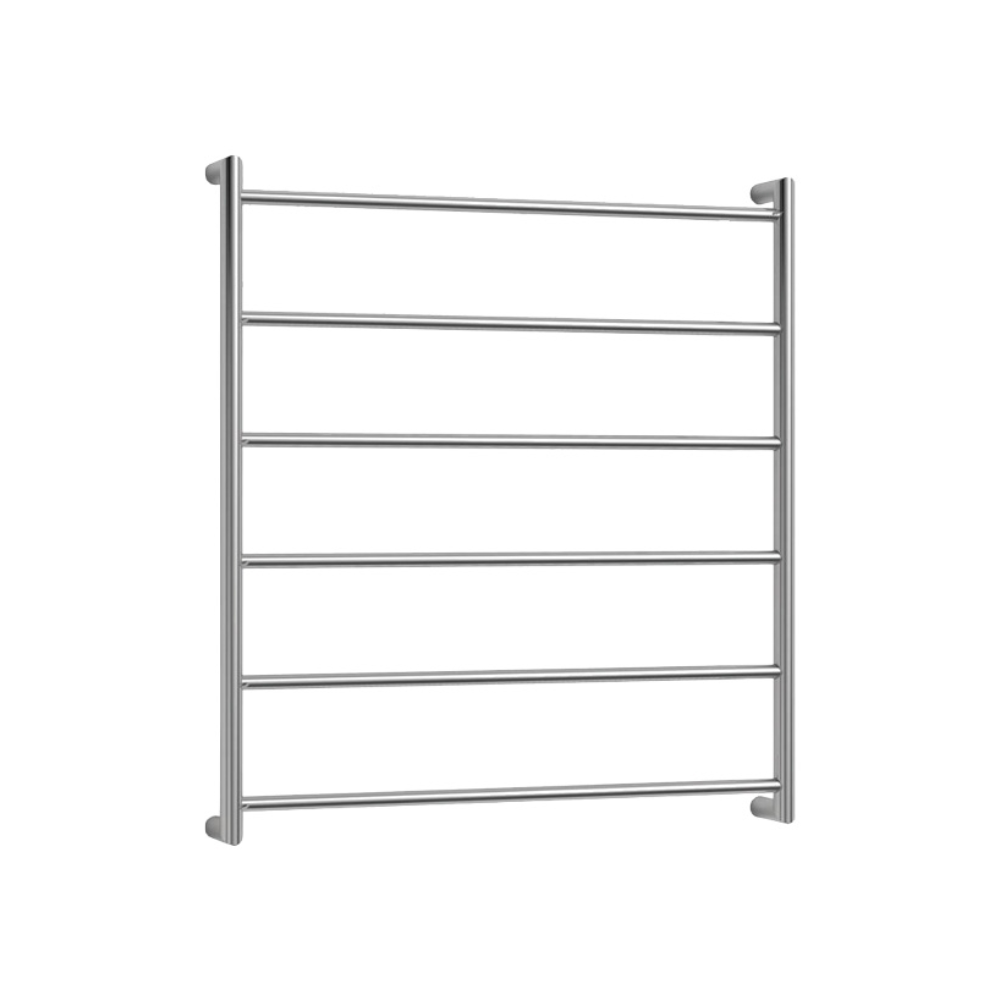 Avenir Abask 6 Bar Heated Towel Ladder 850 x 750mm