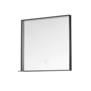 Frame 800 LED Mirror with Shelf