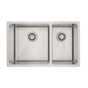 Mercer DV201-R Sink - Bristol 400 x 400mm + 250 x 400mm