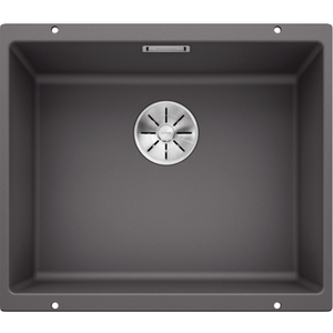 Blanco Silgranit Subline 500-U Single Sink | Rock Grey