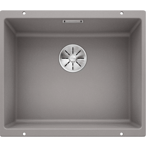 Blanco Silgranit Subline 500-U 500 x 400mm Undermount Alumetallic Grey