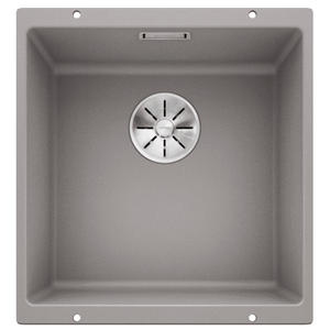 Blanco Silgranit Subline 400-U 400 x 400mm Undermount - Alumetallic Grey