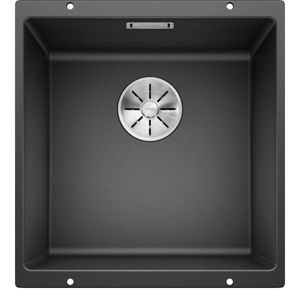 Blanco Silgranit Subline 400-U Single Sink | Anthracite Black