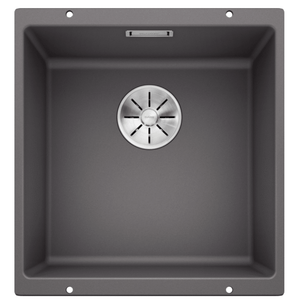 Blanco Silgranit Subline 400-U Single Sink | Rock Grey