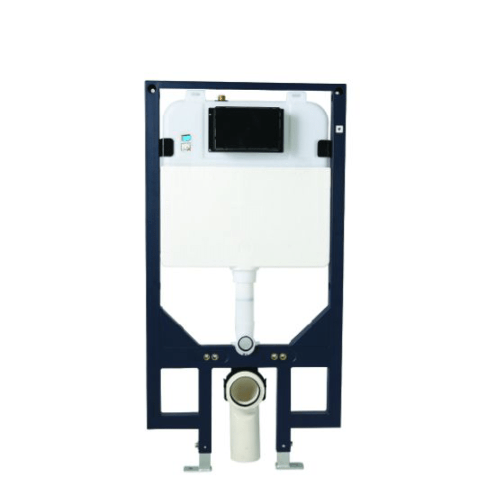 Astra Walker In-Wall Cistern with Frame - Wall Mounted - Front Press