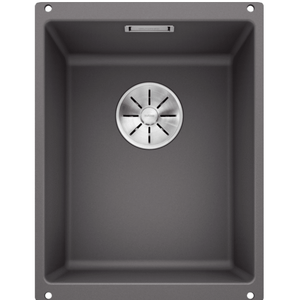 Blanco Silgranit Subline 320-U Single Sink | Rock Grey