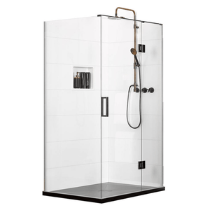 Atlantis EasyTile Encapsulator (Right-Hand) 2-Walled Shower - 1200 x 900mm