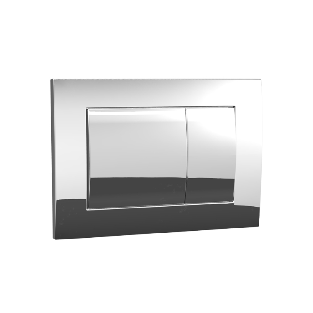 Speedo Mechanical  Metal Flush Panel - Chrome