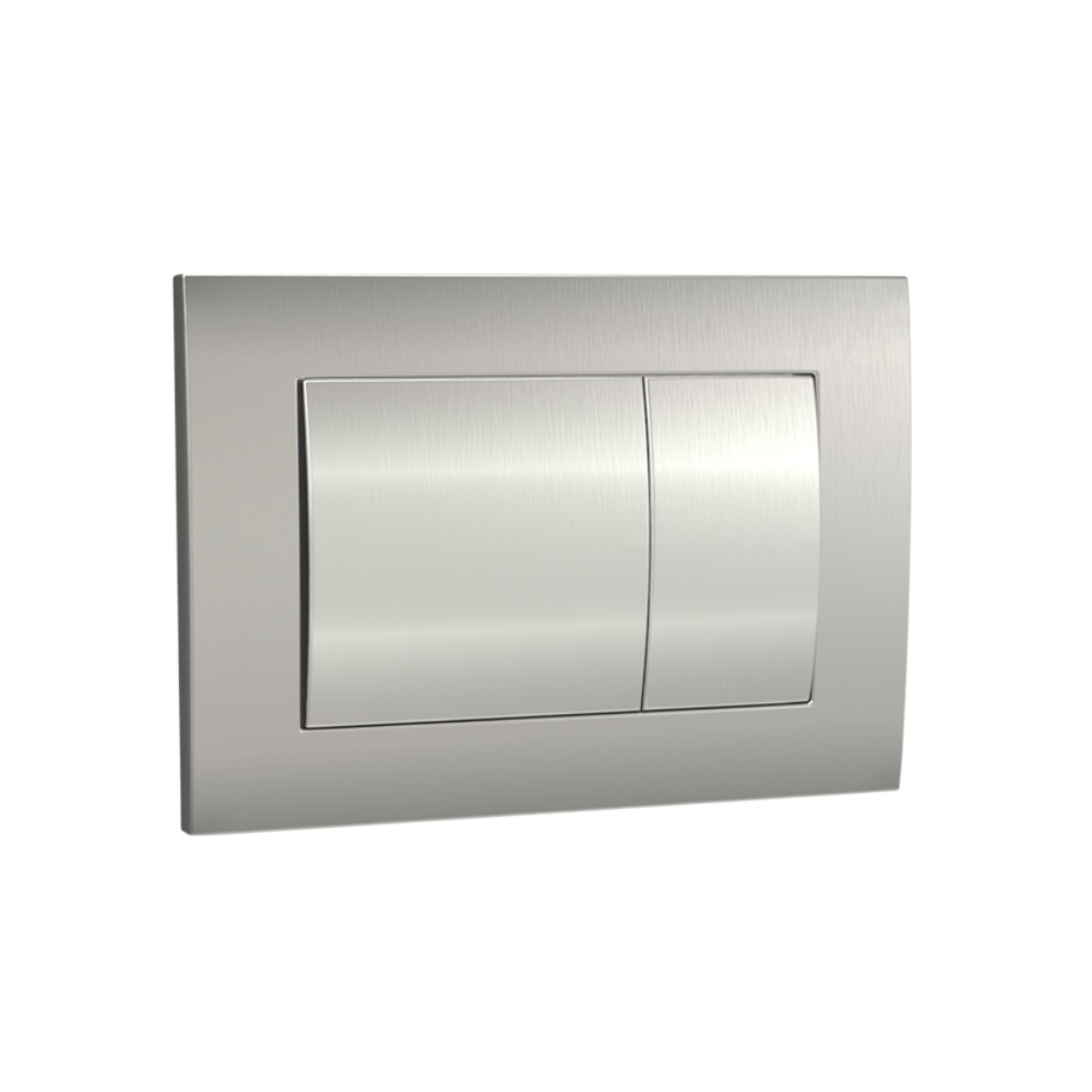 Speedo Mechanical Metal Flush Panel - Brushed Nickel