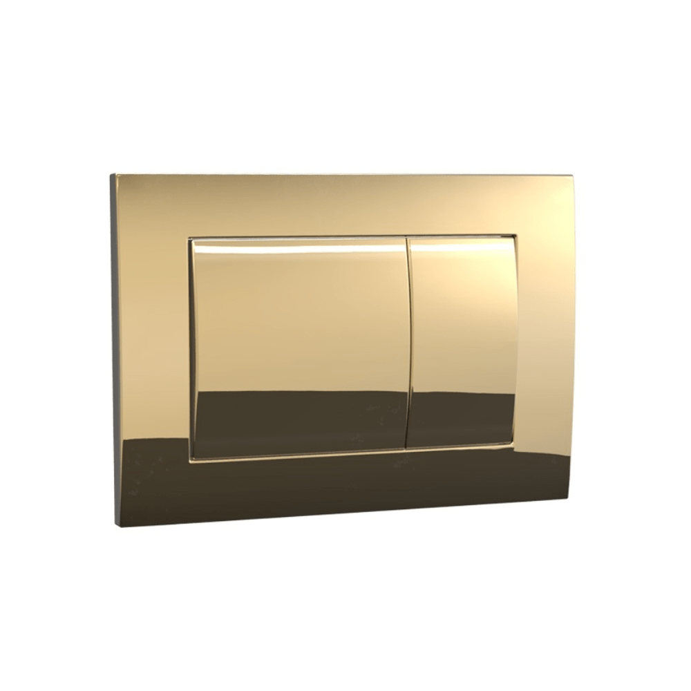 Speedo Mechanical Metal Flush Panel - Polished Brass/Gold