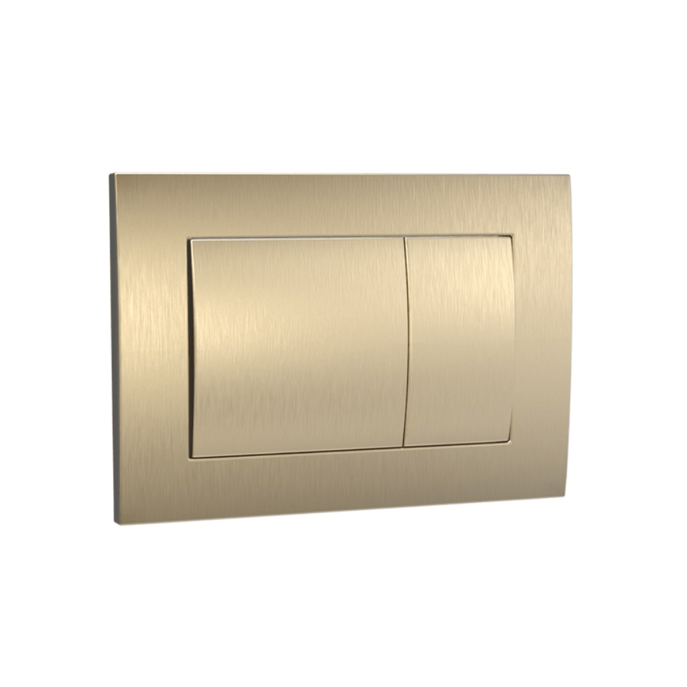 Speedo Mechanical Metal Flush Panel - Brushed Brass