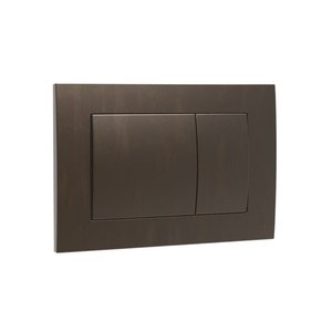 Speedo Mechanical Metal Flush Panel - Aged Brass