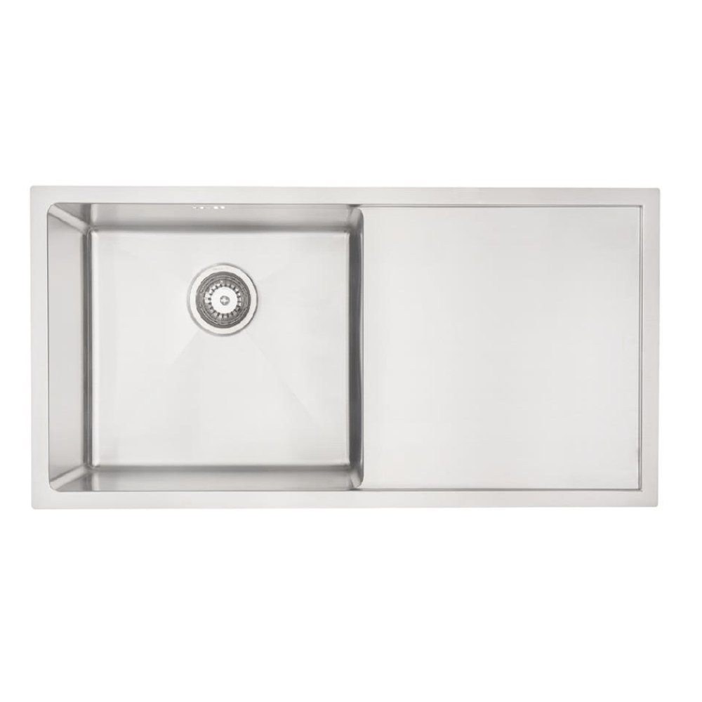 Mercer DV Salford Single Sink with Drainer | 450mm