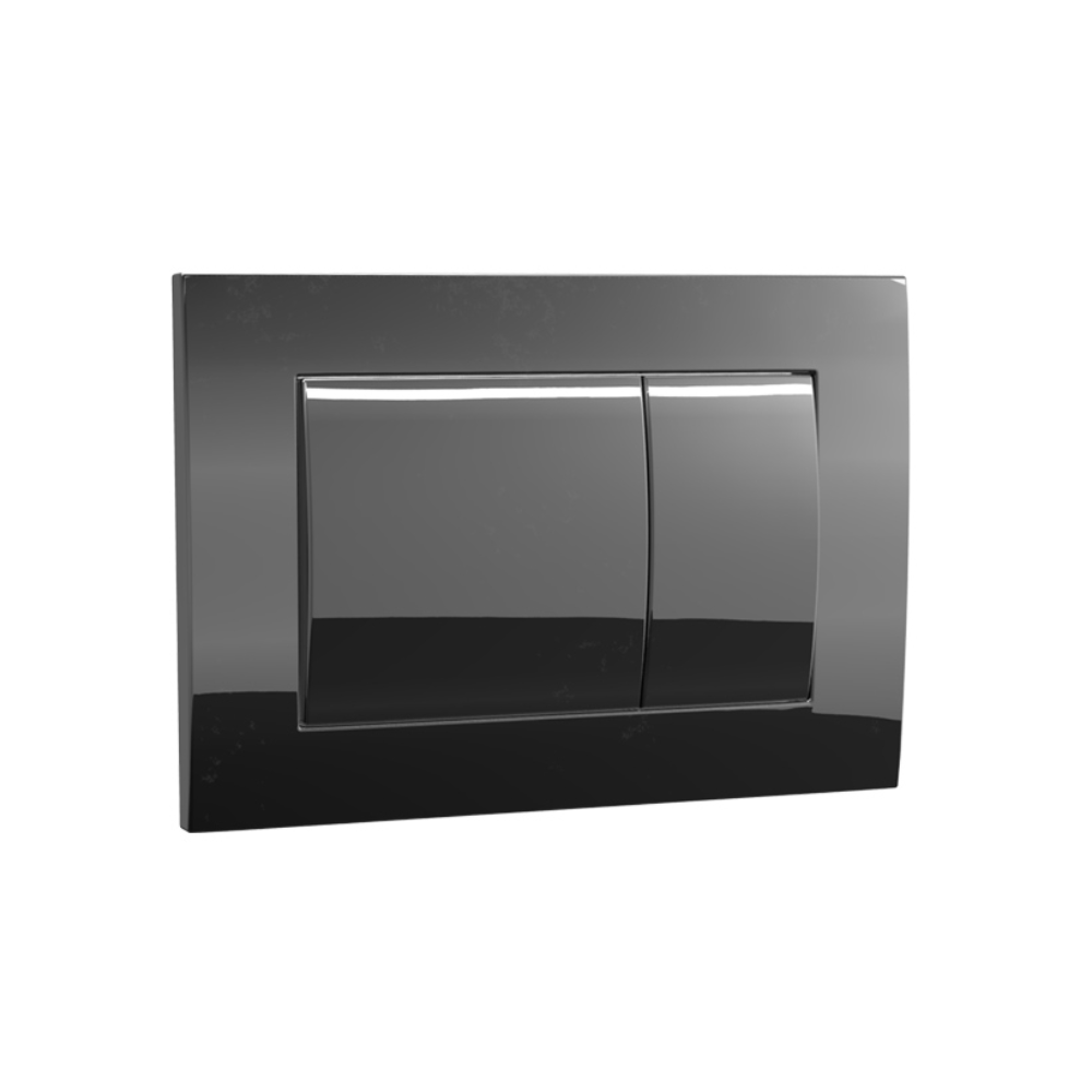Speedo Mechanical Metal Flush Panel - Black Chrome
