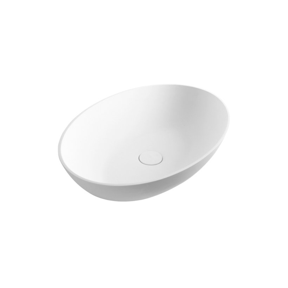Super-Thin Mini Oval Vessel Basin