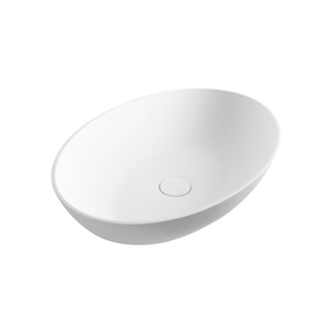 Super-Thin Oval Vessel Basin