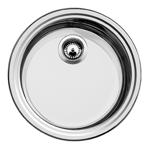 Blanco Rondo Round Stainless Single Sink 390mm