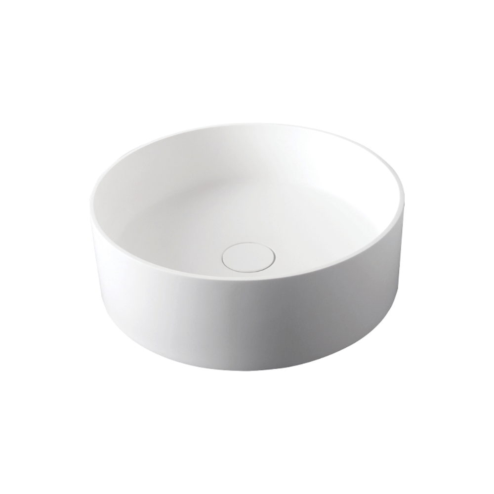 Super-Thin Ellipse Round Vessel Basin