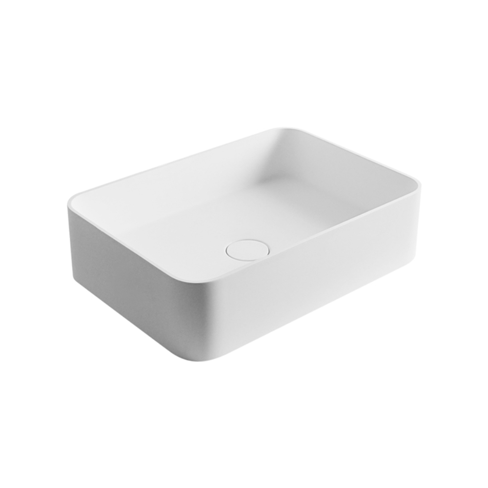 Super-Thin Rectangle Vessel Basin