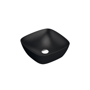 Green Lux 40 Vessel Basin | Matte Black