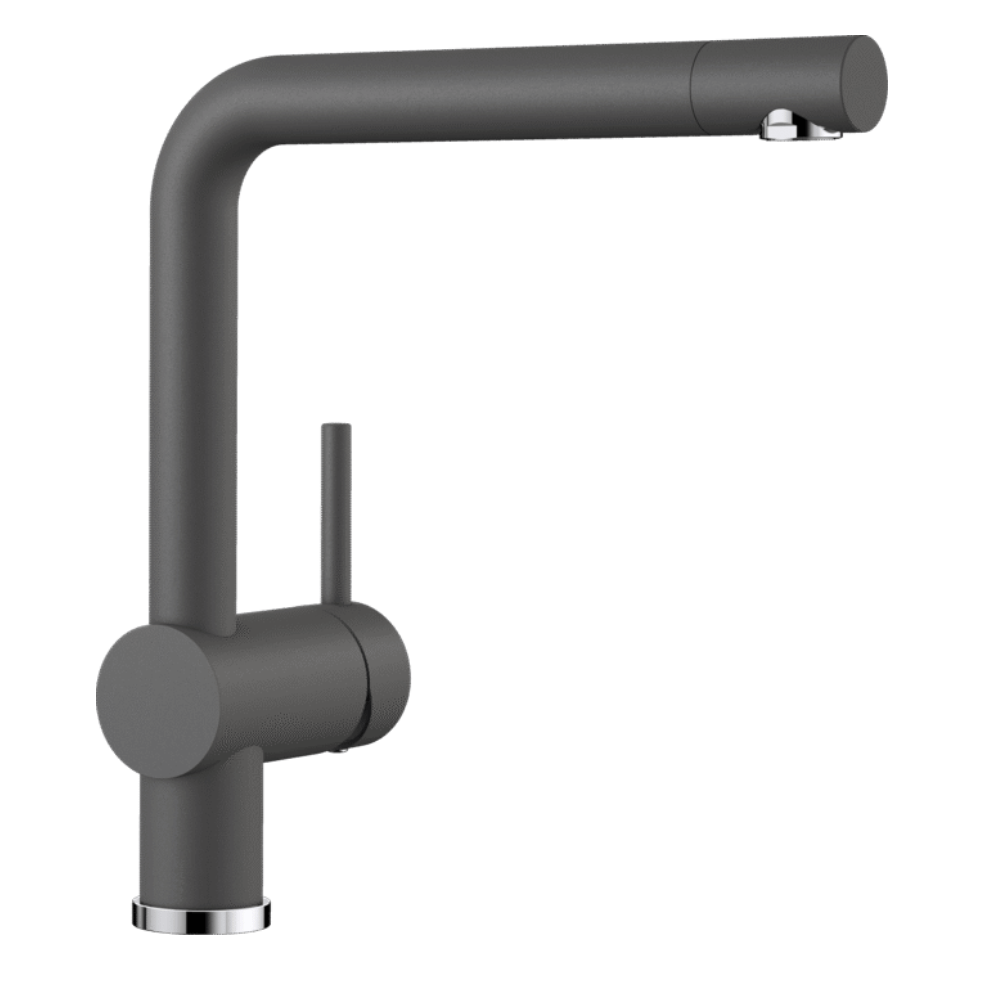 Blanco Linus Kitchen Tap - Rock Grey