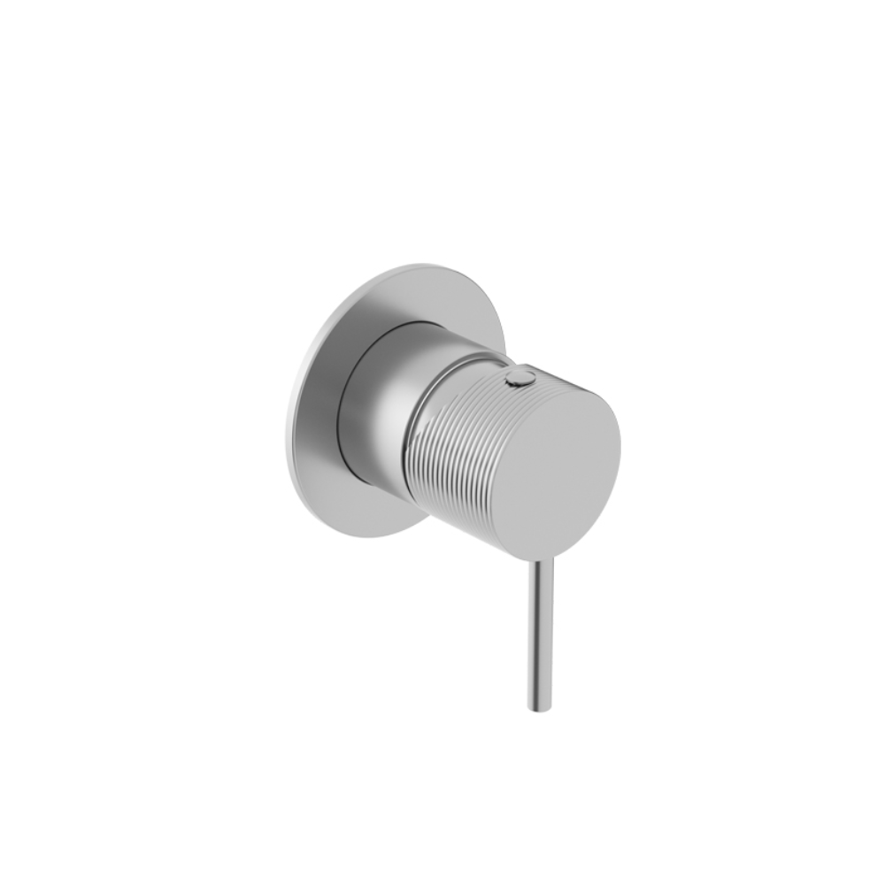 Oli Shower Mixer with Linear Handle - 316 Stainless Steel