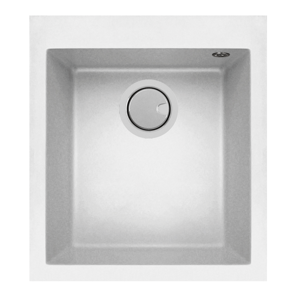Mercer Duro Granite Trento Single Sink | 340mm