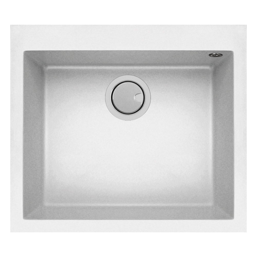 Mercer Duro Granite Palemo Single Sink | 500mm