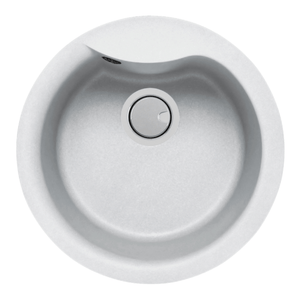 Mercer Duro Granite Bari Round Sink | 400mm