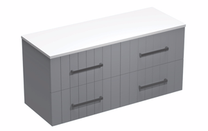 Linea Opaco 1200 4 Drawer Vanity