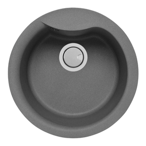 Mercer Duro Granite Sink - Rimini 400mm Diameter