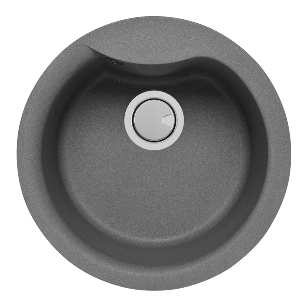 Mercer Duro Granite Rimini Round Sink | 400mm
