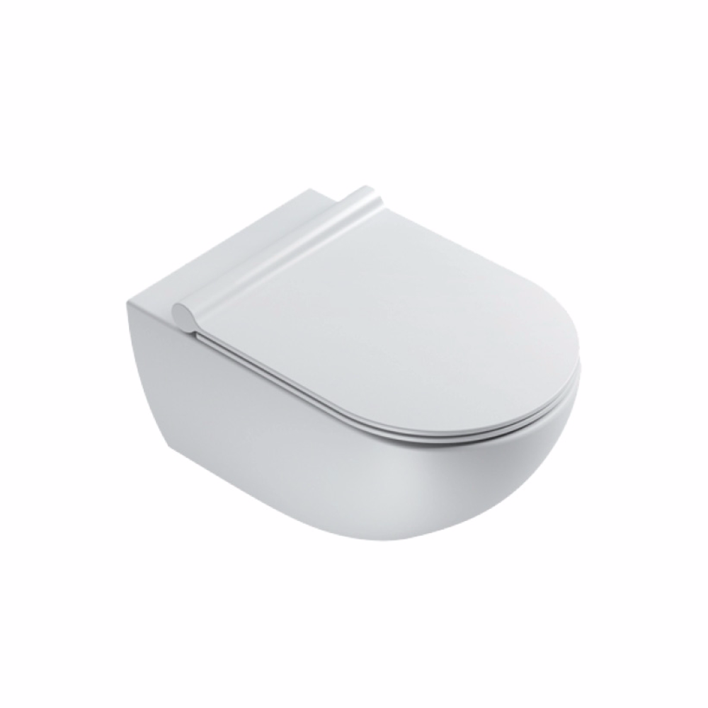 Sfera 54 Rimless Wall Hung Toilet Matt White