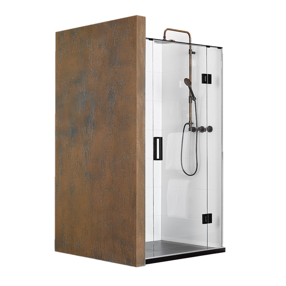Atlantis EasyTile Aquarius 3-Walled Shower - 1000 x 1000mm