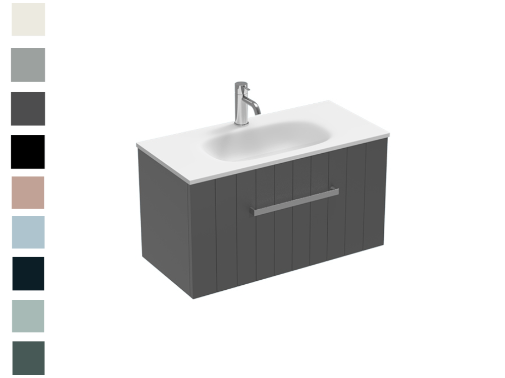 Linea Spio Slim 750 1 Drawer Vanity