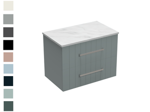 Linea Opaco 750 2 Drawer Vanity