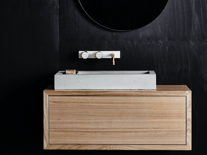 Wood Melbourne Aphra Wall-Hung Timber Vanity