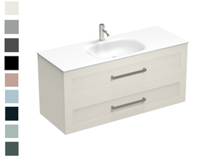 Hampton Spio 1200 2 Drawer Centre Basin Vanity