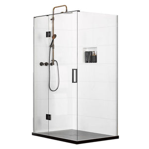 Atlantis EasyTile Boutique 2-Walled Shower | 900 x 900mm