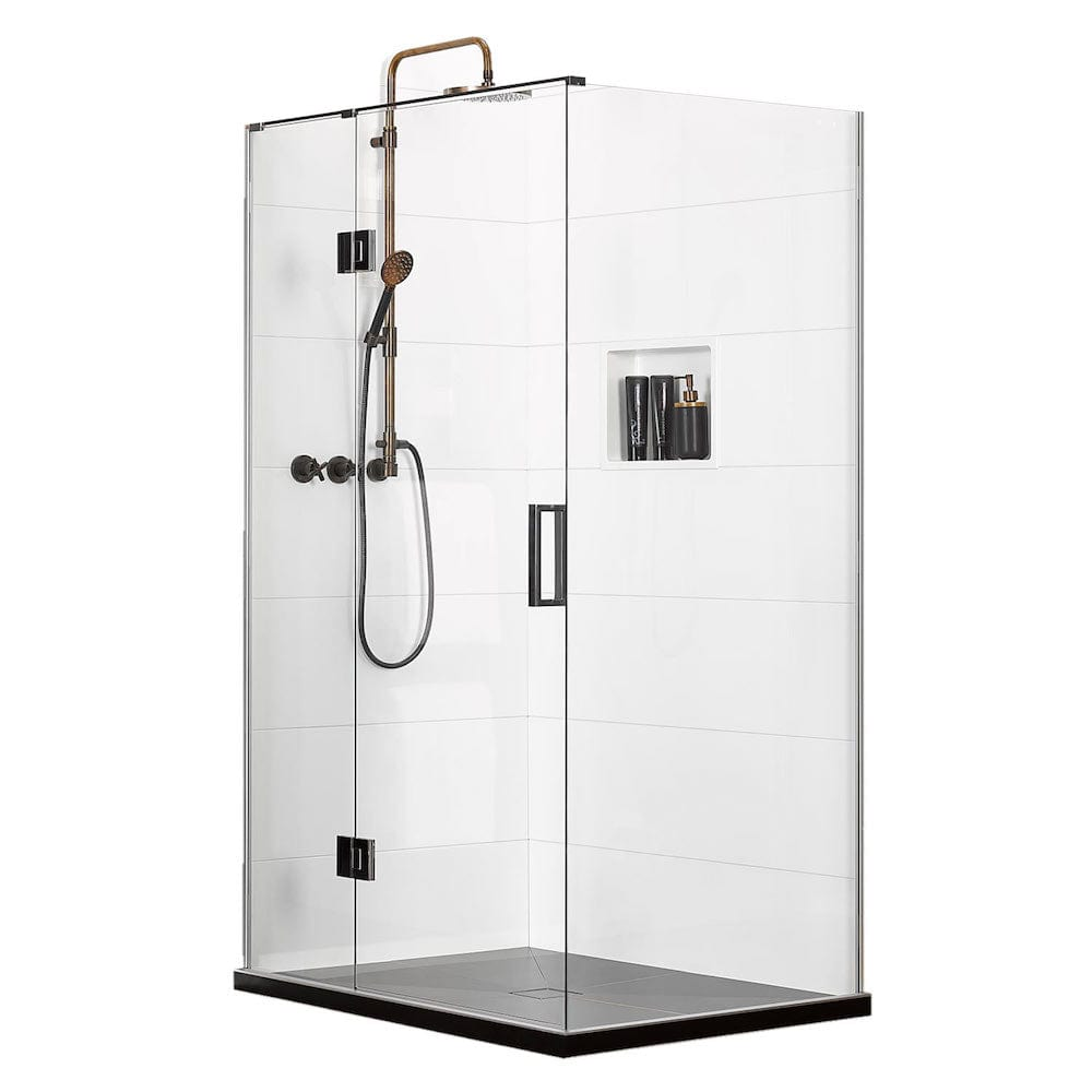Atlantis EasyTile Boutique 2-Walled Shower - 900 x 900mm