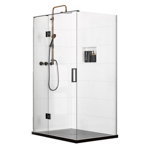 Atlantis EasyTile Splash (Left-Hand) 2-Walled Shower - 1200 x 900mm