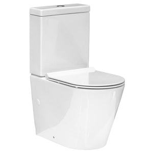 Evo Back To Wall Toilet Suite Slim Seat