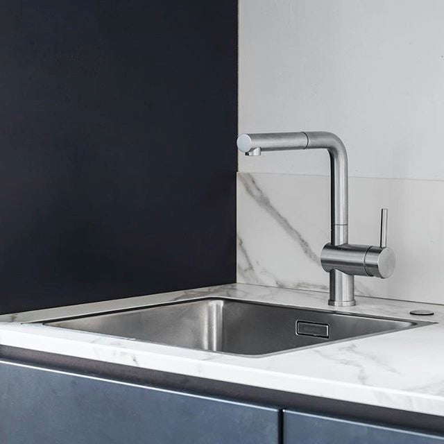 Blanco taps - Blanco Linus S kitchen mixer with pull out spray - the ...