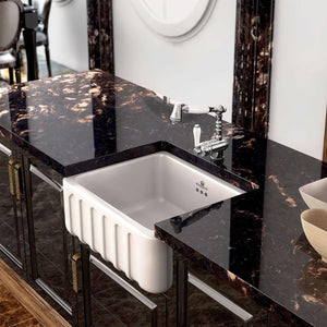 Chambord Louis Butler Sink with Fluted Facade