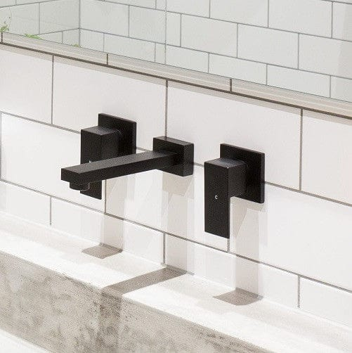 * Meir Combination Spout and Mixer #2 - Matte Black